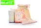 爆款竹纤维童巾 猴子捞月可爱儿童面巾卡通提花吸水毛巾